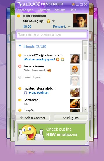 msg9 b1 client 4 Download yahoo messenger 10 arabic free 2011